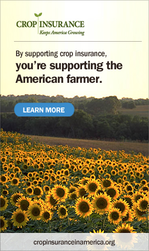 By supporting crop insurance you're supporting the American farmer. Learn more.